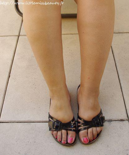 Jambes divines avec caudalie - Hematome jambe suite coup ...