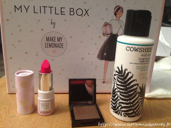 my little box by make my lemonade little miss beauty. Black Bedroom Furniture Sets. Home Design Ideas